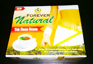 teh daun sena natural berkhasiat untuk melangsingkan tubuh serta mampu menurunkan berat badan