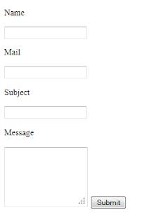 php iletisim formu
