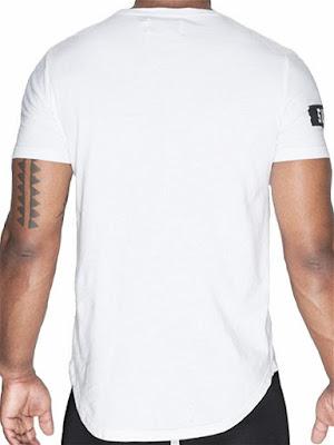 Supawear Crimson T-Shirt Menswear Back Detail Gayrado Online Shop