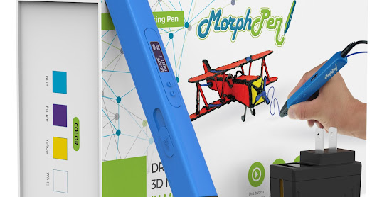 Demo and Review: MorphPen 3D Printing Pen #trymorphpen