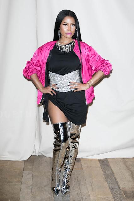 Nicki Minaj en la Paris Fashion Week 2017