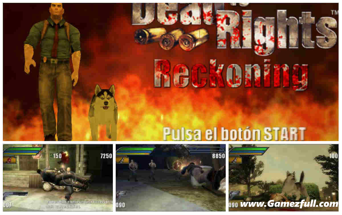 Dead to Rights Reckoning capturas psp