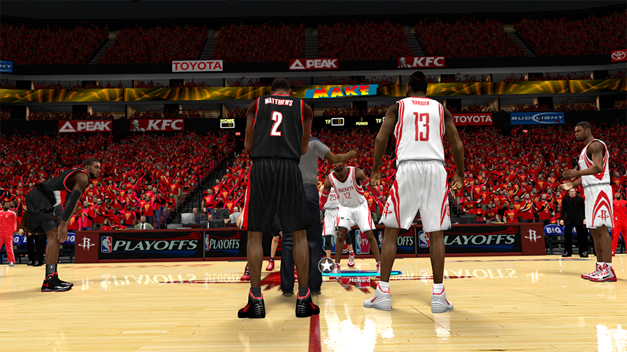 Houston Rockets 2014 Playoffs | NBA 2K14