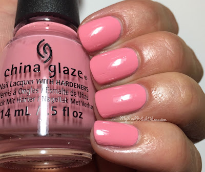 China Glaze House Of Colour, Spring 2016; Pink Or Swim