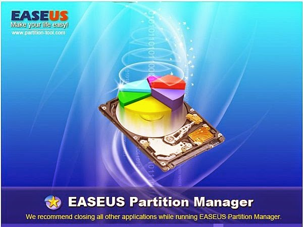 تحميل برنامج easeus partition master 10 لتقسيم الهارد ديسك