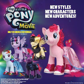 My Little Pony the Movie Plush at Build-a-Bear