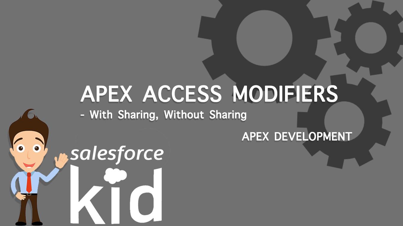 Salesforce Apex Access Modifiers
