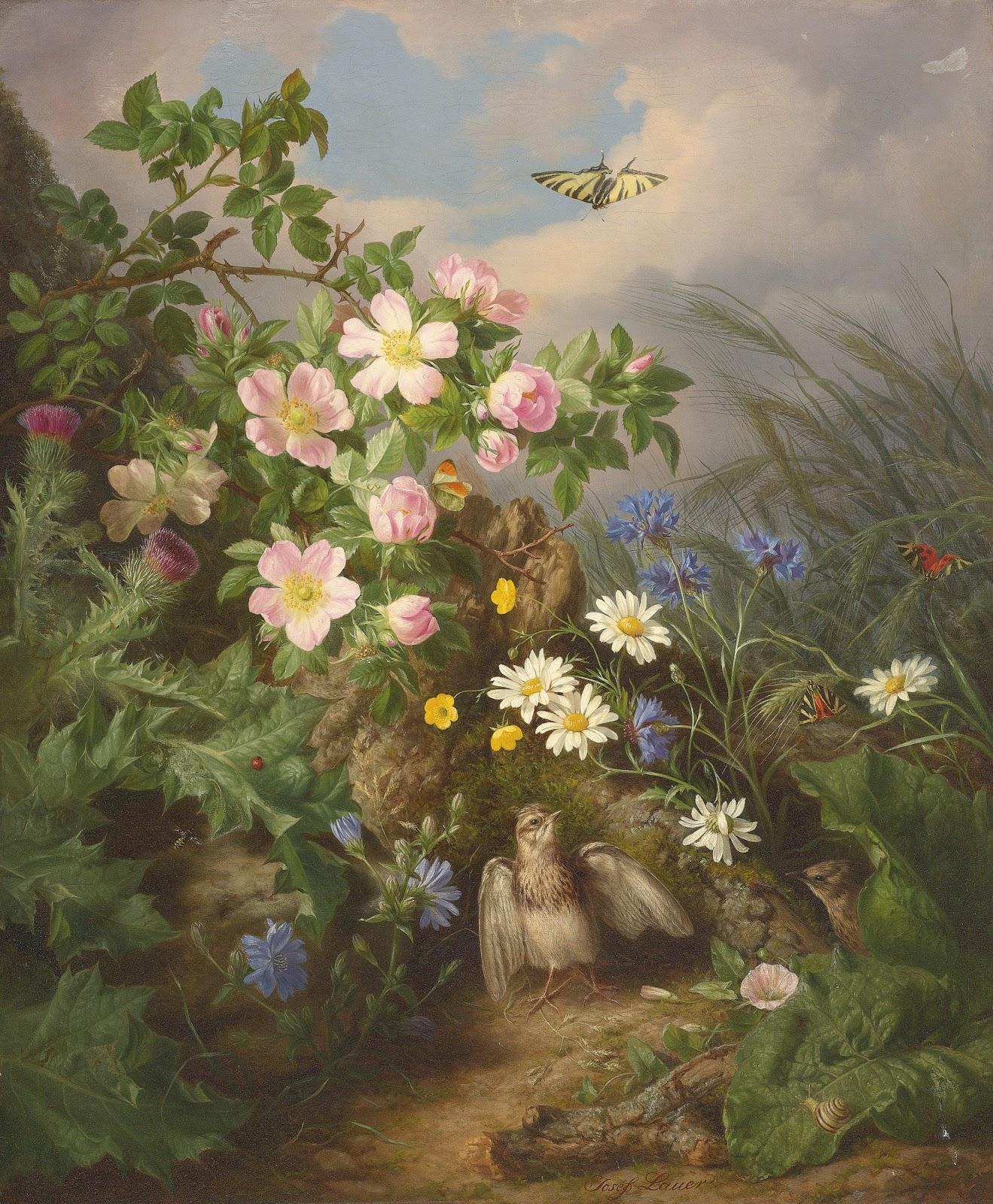 Josef Lauer Still Life Painter Tutt Art Pittura