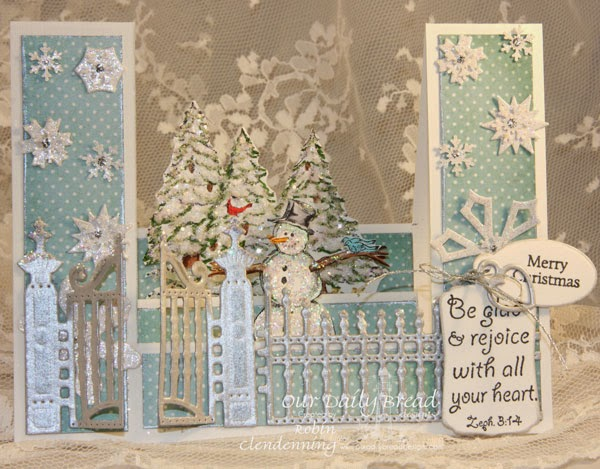 Our Daily Bread Designs, Warm Wishes, Mini Tag Sentiment, Gilded Gate, Mini Tags, Christmas Collection 2014, Designed by Robin Clendenning