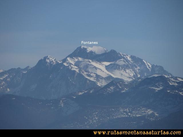 Ruta Linares, La Loral, Buey Muerto, Cuevallagar: Desde la Loral, vista de los Fontanes