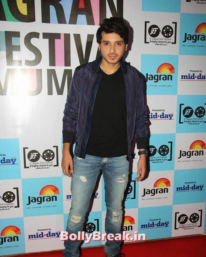 Divyendu Sharma, 5th Jagran Film Festival Red Carpet Pics