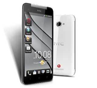 Htc mobile handset butterfly