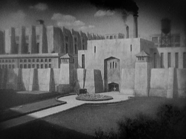 Cedric Gibbons set design - The Big House (1930)