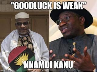 OBYC warns IPOB leader Nnamdi Kanu about disrespecting Former President Goodluck Jonathan