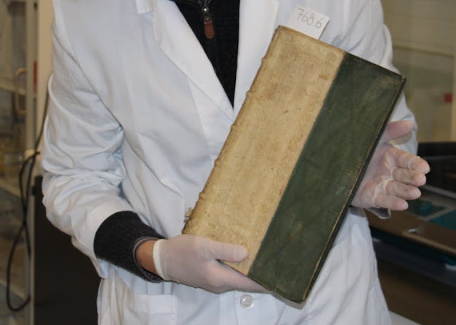 University library in Denmark finds three of its rare books were poisonous