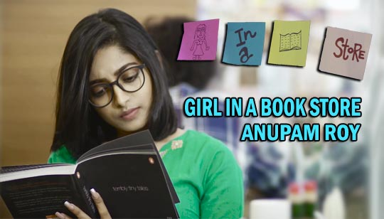 Girl In A Bookstore - Anupam Roy