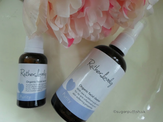 Review Rather Lovely Purity Facial Cleanser and Facial Serum