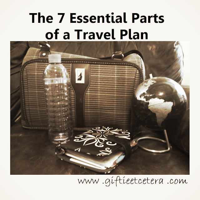 travel, planning, organize, globe, carry-on bag, water bottle