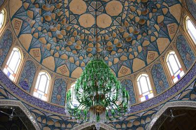 Foto mezquita interior iran