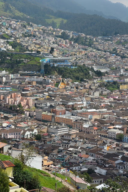El Panecillo hill views Quito