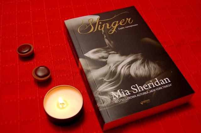 """""""Stinger. Żądło namiętności'' Mia Sheridan, cyrysia, literacki świat cyrysi"""