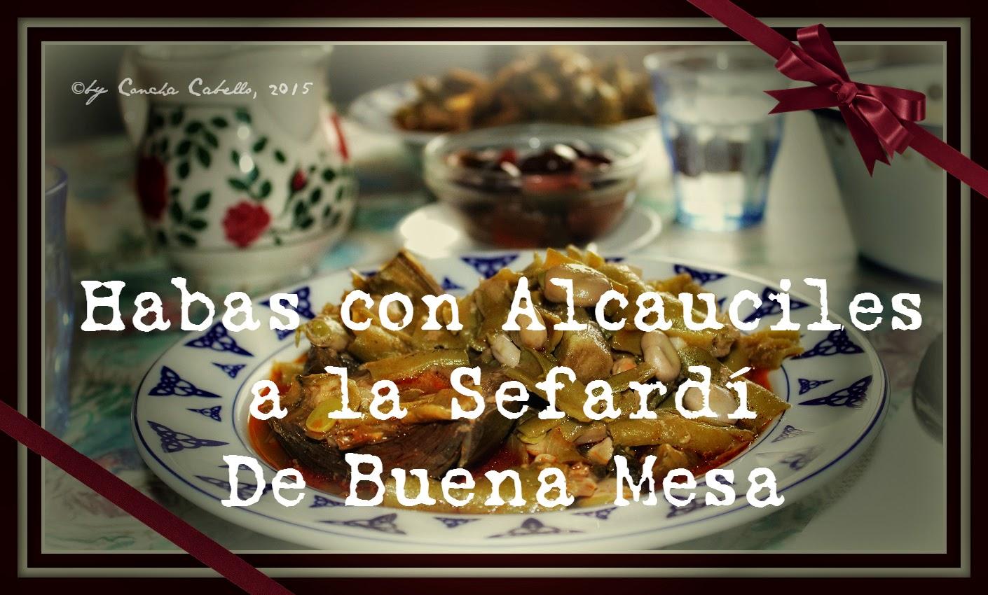 Cocina Sefardi | Habas Con Alcauciles A La Sefardi