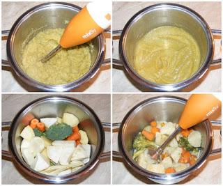 legume fierte si mixate, retete pentru copii, retete, supa crema, supa crema de legume, supa crema de legume cu crutoane, retete culinare, retete de post, mancaruri de post, mancare de post, retete de mancare, retete cu legume, preparate din legume, mananca sanatos, crema de legume, piure de legume, supe creme, supa crema de broccoli cartofi ceapa morcovi telina,