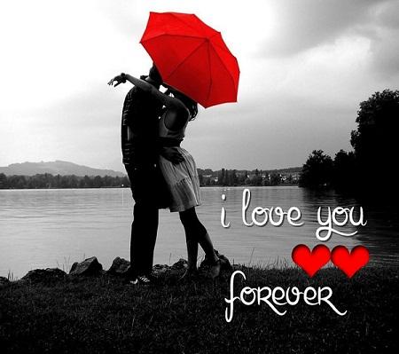 Sweet I Love You Kiss Photo