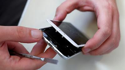iPhone roto de la pantalla