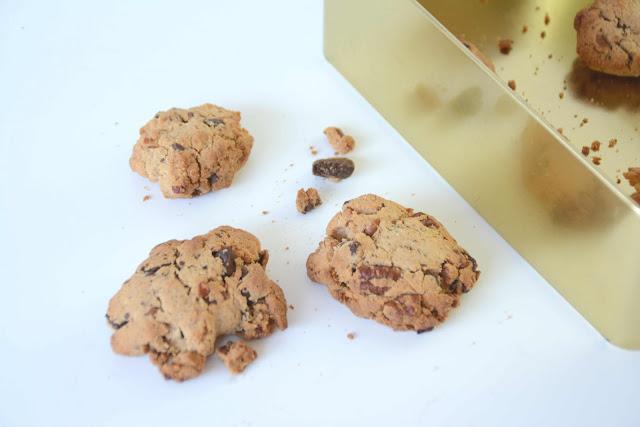 Cookies noix de pécan et beurre de cacahuète