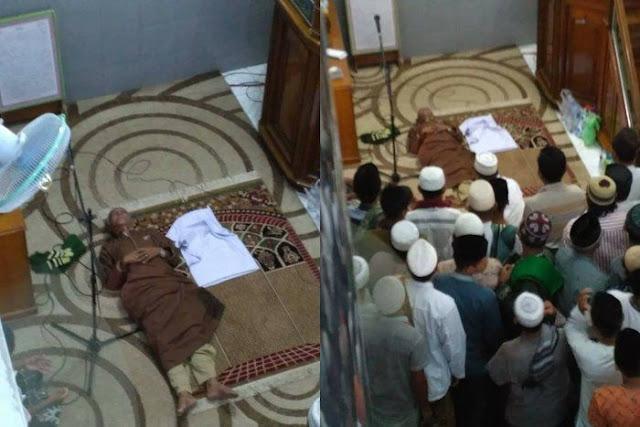 Imam Masjid Di Samarinda Ini Meninggal Dalam Keadaan Bersujud Saat Imami Shalat Jumat