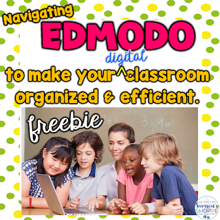Edmodo, freebie, organization, organize