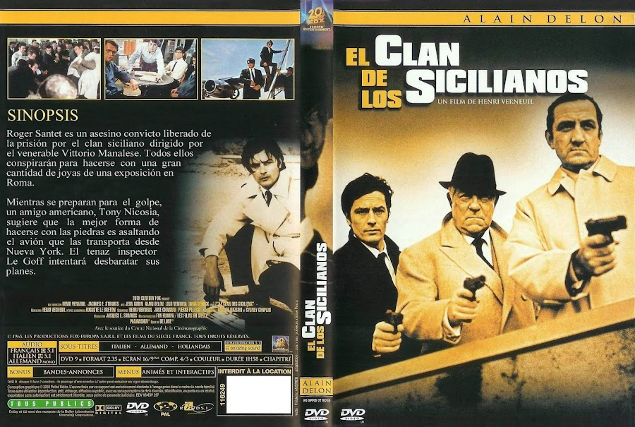 Cine de Mafia - Página 3 El_Clan_De_Los_Sicilianos-Caratula