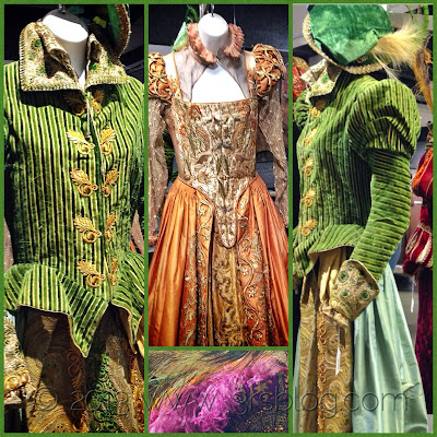 Movie costumes for auction
