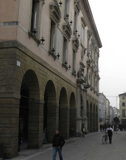 Palazzo del Bò in the centre of the city is the main building of the University of Padua