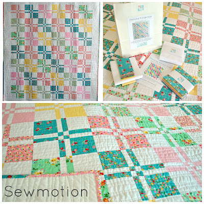http://www.sewmotion.com/sewmotion_shop/prod_5173787-Charming-Vintage-Rose-Quilt-Kit-in-Riley-Blakes-Backyard-Roses-and-Kona-Solids.html