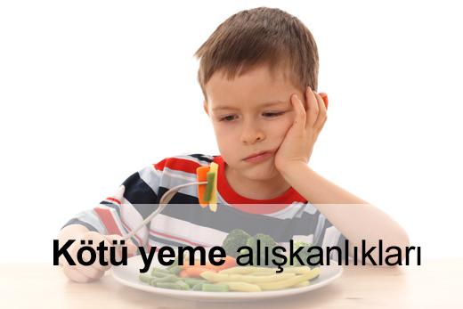 ebeveynlik sorunları çocuğum sağlıklı beslenmiyor