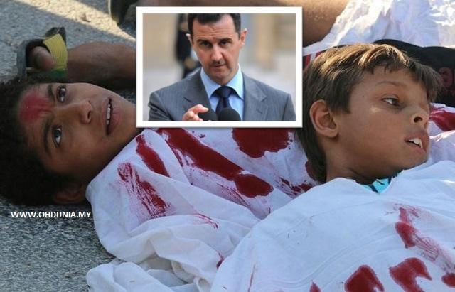 Rejim Bashar al-Assad Sembelih Kanak-Kanak, Wanita Setiap Jam