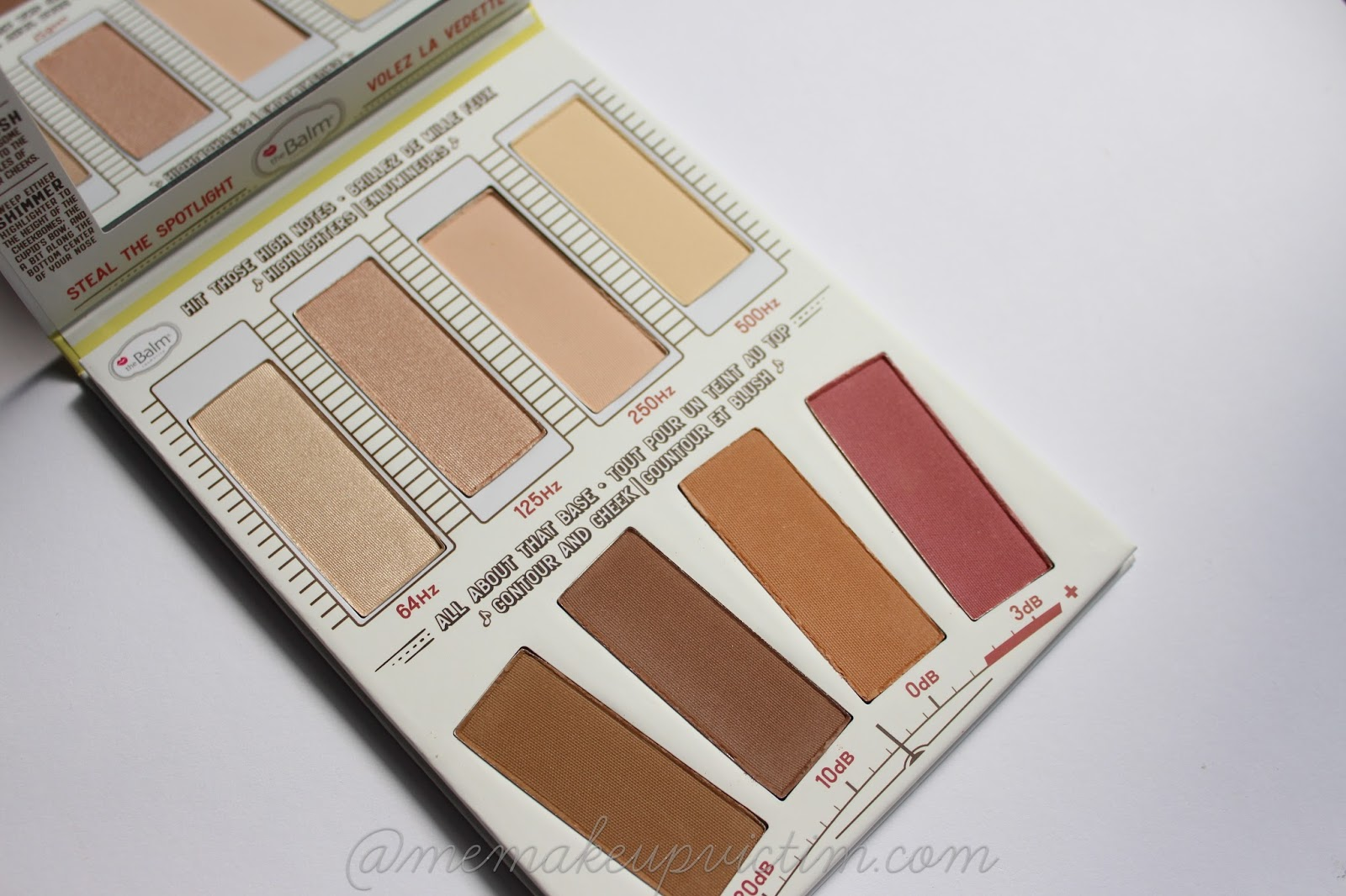 thebalm highlight n contour paleta