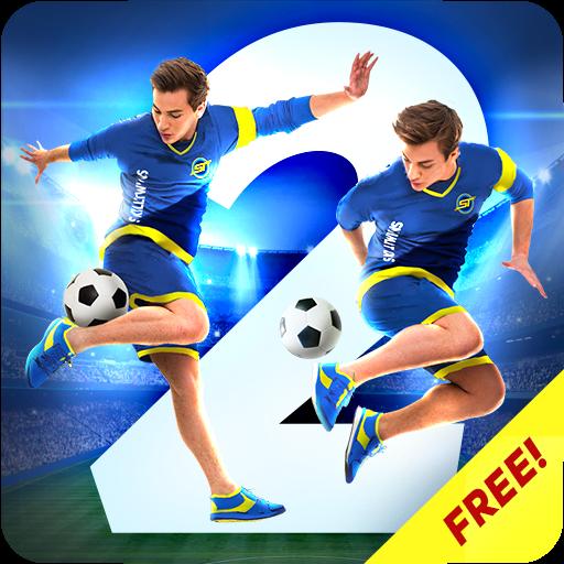 تحميل لعبة SkillTwins Football Game 2 v2.1.3 مهكرة وكاملة للاندرويد كلشي غير محدود