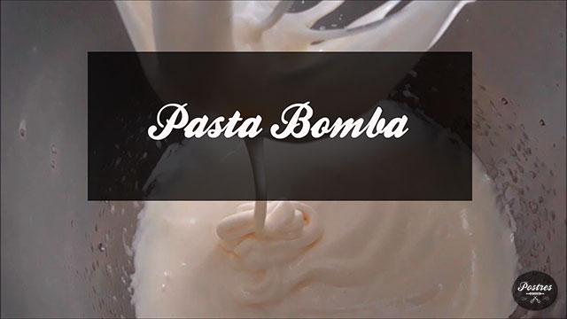 Recetas Básicas de Pastelería: Pasta Bomba