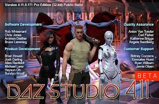 Daz Studio 4.11.0.196 Pro Beta / 4.10.0.123 Pro Edition + x64