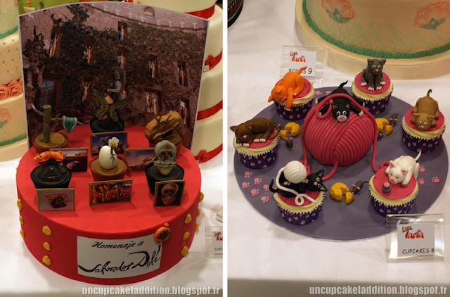 Expo Tarta 2013 :  les deuxième et troisième prix Cupcakes