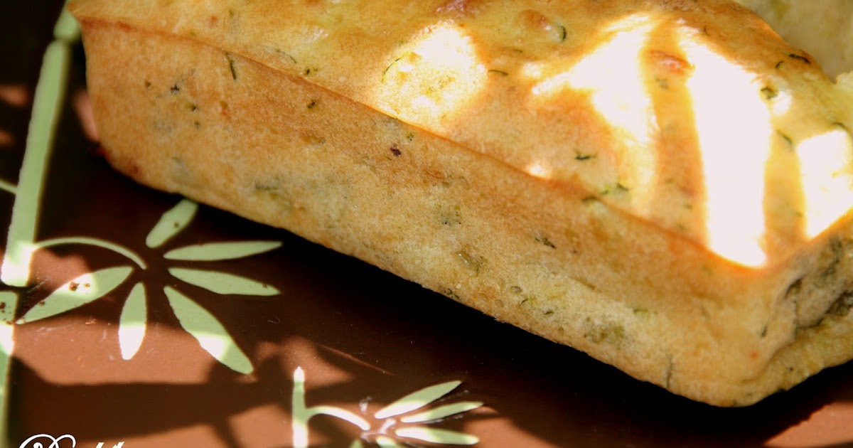 Cake Courgette Fromage Carre Du Tarn