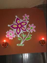 Small Rangoli Designs For Diwali