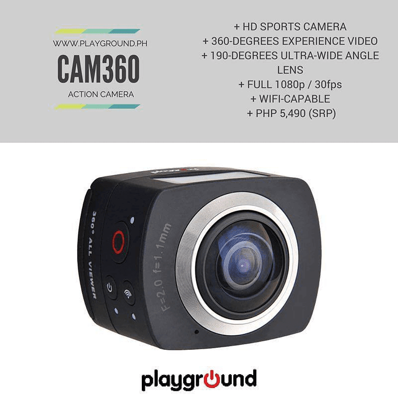 Playground CAM 360 announced