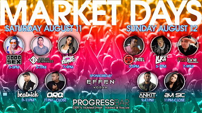 Catch Me Sunday At Market Days 2018...