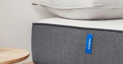 eine casper matratze f r den gro en probeschlafen gegen verpannungen und r ckenschmerzen. Black Bedroom Furniture Sets. Home Design Ideas