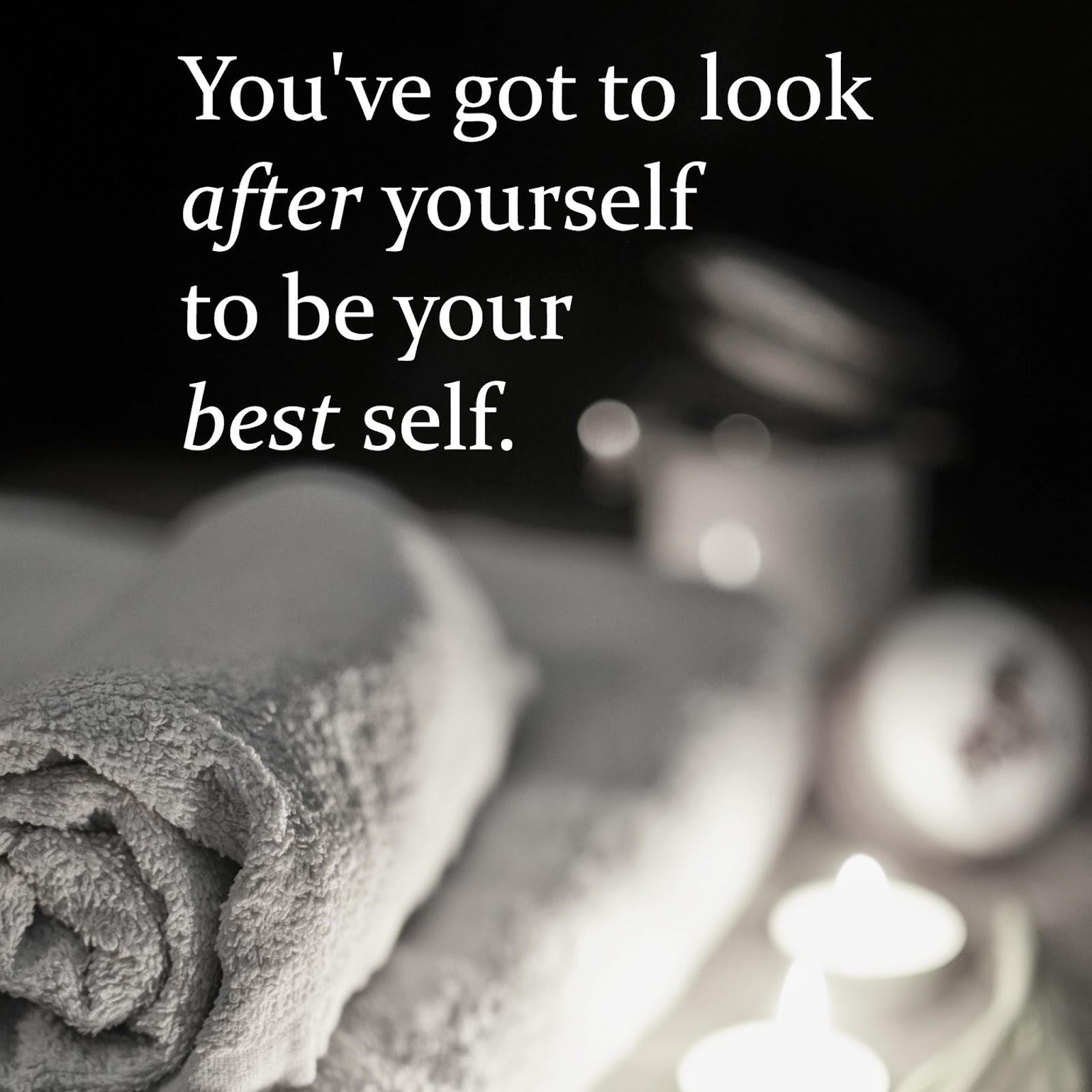 spa home spa look after yourself self care sleep