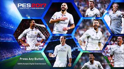 PES 2017 Start Screen Terbaik untuk Madridista